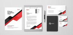 Professional Business Stationery Invoice Design, Letterhead Design, Branding Design, Keynote Template, Brochure Template, Flyer Template, Stationery Templates, Psd Templates, Brand Guidelines Template