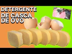 DETERGENTE CASEIRO CASCA DE OVO - YouTube