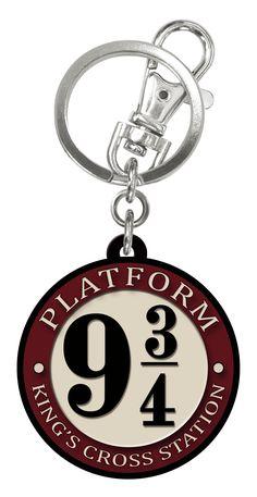 #HarryPotter 9 and 3/4 Platform Soft Touch PVC Key Ring, item no. 48068. #Hogwarts #Wizardry. Available on @amazon https://www.amazon.com/Harry-Potter-Platform-Rubber-Keychain/dp/B01AB48VXC