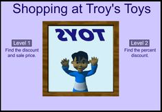 Percent Shopping supports Grade 6 Common Core Math Standards in Ratios and Proportional Relationships.