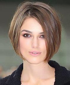 cortes de cabelo curto feminino para rosto redondo More