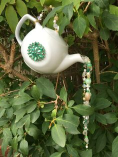 Tea Pot Garden Art H