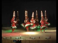 ▶ rajasthani folk dance by vanasthali vidyapeeth students-dance-02 - YouTube