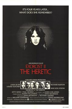 Exorcist II: The Heretic Movie Poster - Internet Movie Poster Awards Gallery