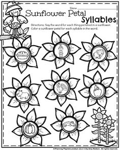 It is Fall Kindergarten Worksheets time, and they are Turkeylicious! Your students will love these for the month of November and throughout the fall. Thanksgiving Worksheets, Thanksgiving Writing, Syllables Kindergarten, Kindergarten Activities, Beginning Of School, Pre School, Teacher Games, Opinion Writing Prompts, Color Activities