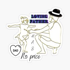Father's Day Stickers, Model Look, Best Dad, Happy Fathers Day, Daddy, Prints, Happy Valentines Day Dad, Fathers