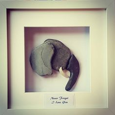 An elephant never forgets pebbleart #anelephantneverforgets #valentinesday #pebbleartpiece #riverstones #oneofakind #unique