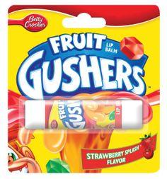 Fruit Gushers lip balm