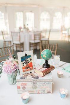 Romantic Travel Themed Wedding   Nearly Newlywed Blog Wedding Blog