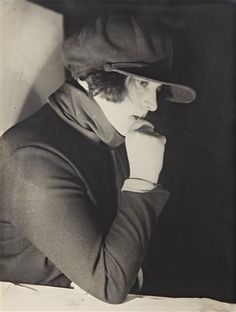 ALEXANDER RODCHENKO  Film-maker Esther Shub, 1924.  Love her hat and I imagine she probably wore it with pants...