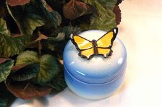 Ceramic Keepsake Box  Butterfly Keepsake by GrapeVineCeramicsGft, $15.00 #dteam