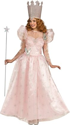 Wizard Of Oz Deluxe Glinda the Good Witch Adult Costume from BuyCostumes.com