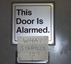 What startled it?