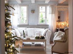 DESDE MY VENTANA: NAVIDAD EN BLANCO / FRENCH COUNTRY WHITE CHRISTMAS