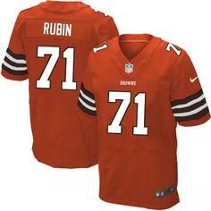 6dc18020d7b NFL Cleveland Browns #71 Ahtyba Rubin Elite Orange Men Jersey Bernie Kosar,  Nfl Cleveland