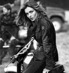 You know this model has nothing to do with motorcycles, right? Oh, Belstaff, what have you become.