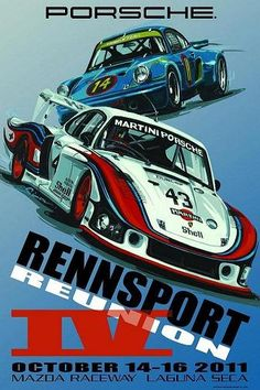 Rennsport Reunion IV October 14-16, 2011 Mazda Raceway Laguna Seca