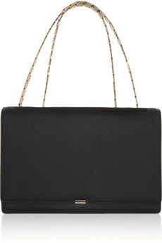 Victoria Beckham Leather shoulder bag | NET-A-PORTER