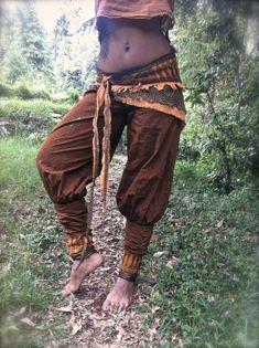 Broderie ethnique d'ornement égyptien pantalons par AnuttaraCrafts