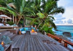 House of Turquoise: North Island Seychelles