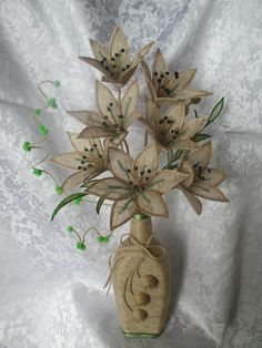 Burlap Crafts, Diy And Crafts, Paper Crafts, Bobbin Lacemaking, Gift Packaging, Sisal, Twine, Paper Flowers, Garden Design