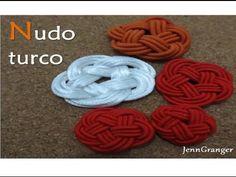 Nudo turco. Nudo celta. (Turkish knot. Celtic Knot) Macramé. - YouTube