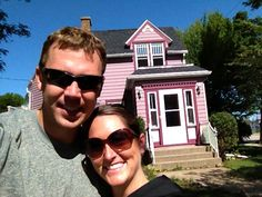 10 - Found a purple house! 100 points #FoxCities #Appleton #Wisconsin