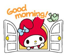 Animated gif uploaded by GLen =^● 。●^=. Find images and videos about cute, gif and kawaii on We Heart It - the app to get lost in what you love. Cute Good Morning Gif, Gif Lindos, Cute Bear Drawings, Hello Kitty Imagenes, My Melody Wallpaper, Hug Gif, Hello Kitty My Melody, Cute Love Gif, Morning Cartoon