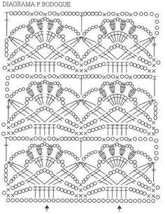 Este sencillo vestido en crochet (ganchillo) luce apropiado para cual cualquier edad y ocasión.