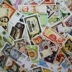 New money printed papers are here. Make your gifts, collages and other paper crafting projects look like a million bucks! 12 designs to choose from.