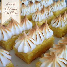 Recipe: Lemon Meringue Pie Bars - Rook No. 17:  recipes, crafts & creative nesting