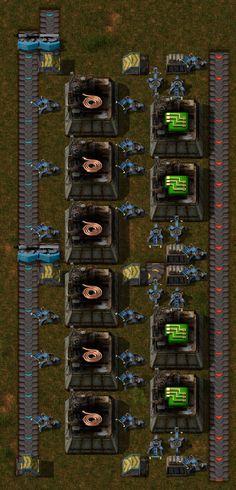 Factorio Train Unloading Loop Factorio Pinterest