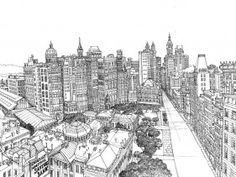 illustrated maps, great website! (New York Manhattan)