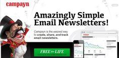 Campayn, crea, comparte y controla tus boletines por correo electrónico