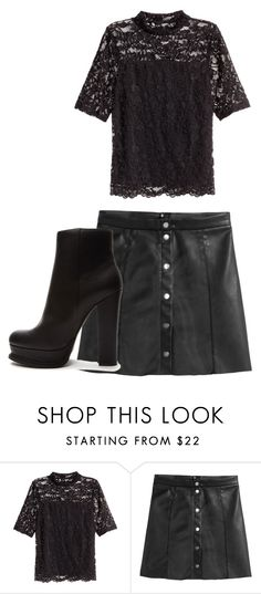 """Untitled #13043"" by danisalalkamis ❤ liked on Polyvore featuring H&M and Forever 21"