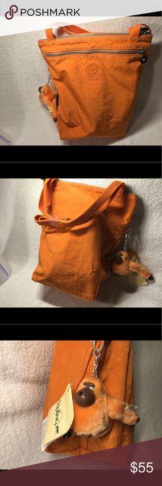 KIPLING KATIE SMALL SHOPPER TANGERINE BRAND NEW KATIE SAMLL SHOPPER TANGERINE. Kipling Bags Mini Bags