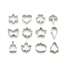 Set of 12 Year of Cookie Cutters  | Crate and Barrel