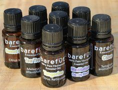 Barefut Essential Oils for Aromatherapy-- GREAT quality + cheapest you can buy!