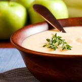Papilla de manzana y camote (papa dulce o batata)