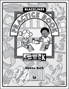 Perfect Book to Print for K Math Lessons and Free too. Yeah!