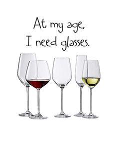 I definitely need glasses.