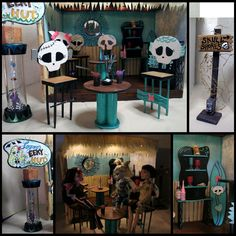 decorating idea for monster house