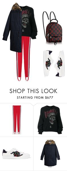 """""""red"""" by needlework ❤ liked on Polyvore featuring Gucci, R13 and STELLA McCARTNEY"""