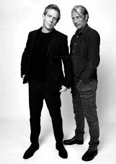 With Ben Mendelsohn by Jake Chessum Many Men, Mads Mikkelsen, I Icon, Celebs, Celebrities, Face Claims, Classic Hollywood, Celebrity Crush, Actors & Actresses