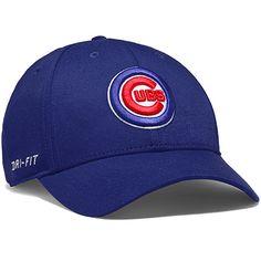 Chicago Cubs Dri-FIT Swoosh Flex Stretch Fit Cap by Nike 3a480d7664d