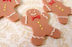 Edible Gingerbread Men Decorations