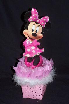 Minnie Mouse centros de mesa - Imagui