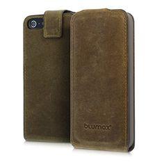 Blumax Apple iPhone SE 5 / 5S Flip-Case Handyhülle aus Le... https://www.amazon.de/dp/B009A9ABJM/ref=cm_sw_r_pi_dp_iCawxbK5NDEQK