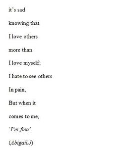 Sad Love Quotes : QUOTATION – Image : Quotes Of the day – Life Quote This is so me. Pulled the words right out of my mind. Sharing is Caring Sad Poems, Poem Quotes, True Quotes, Empty Quotes, Funny Quotes, The Words, In My Feelings, Quotes To Live By, Im Fine Quotes