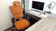 Câteva cuvinte despre scaunul ergonomic Mirus, și poze cu acesta – MIRUS.RO Ergonomic Chair, Corner Desk, Projects, Furniture, Home Decor, Corner Table, Log Projects, Blue Prints, Decoration Home